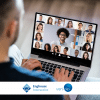Video conferencing with facial biometrics